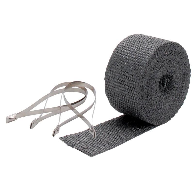 DEI Exhaust Wrap Kit - Pipe Wrap and Locking Tie - Black