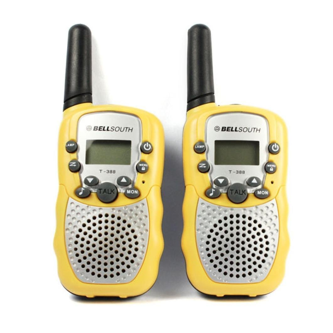 GBSELL 2pcs Wireless Walkie_talkie Eight Channel 2 Way Ra...