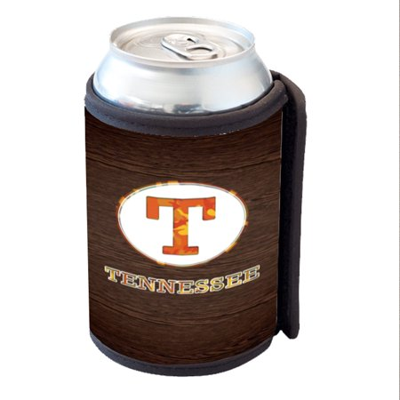 KuzmarK Insulated Drink Can Cooler Hugger - Tennessee Wood