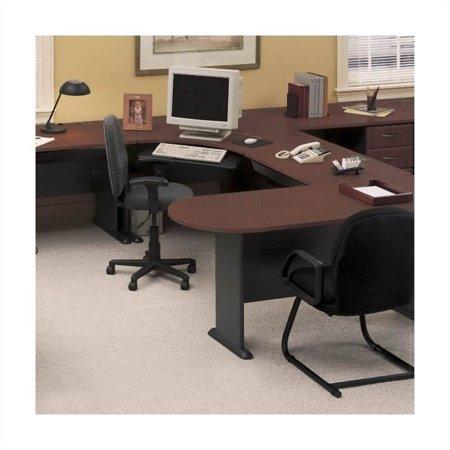 Series U-shape Office Suite (Bush Business Series A Hansen Cherry U-Shape Office Suite )
