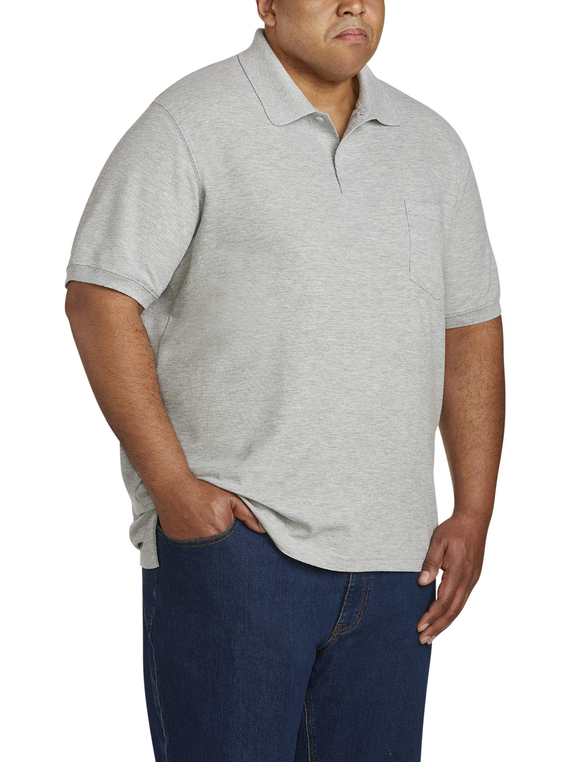 Canyon Ridge Men's Big & Tall Pocket Pique Polo Shirt