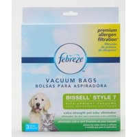 Febreze BISSELL Style 7 Bag with Pet Odor Eliminator Scent, 17F9P