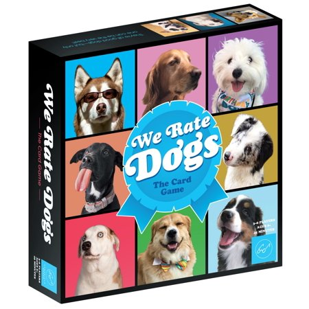 We Rate Dogs! The Card Game  For 3-6 Players, Ages 8+ - Fast-Paced Card Game Where Good Dogs Compete to be the Very Best  Based on Wildly Popular @WeRateDogs Twitter (Best International Calling Card Rates)