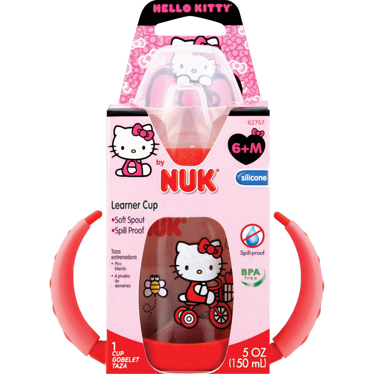 NUK - Hello Kitty 5oz Learner Cup, BPA-Free