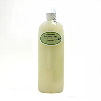 Dr. Adorable - 100% Pure Extra Virgin Coconut Oil Organic Cold Pressed Unrefined Natural Hair Skin - 16