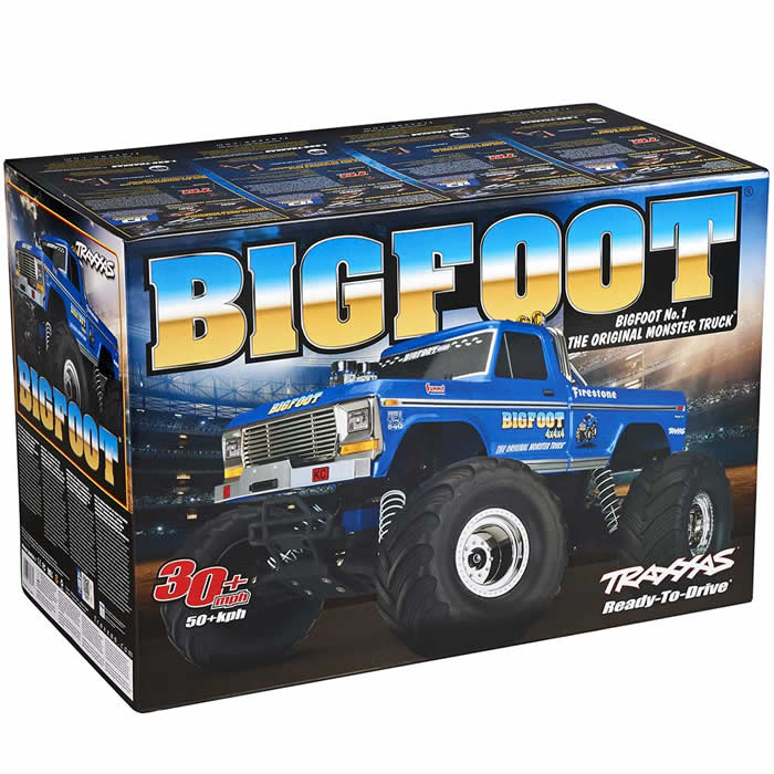 BIGFOOT Electric Monster Truck Ready To Run Traxxas by Traxxas RC Models
