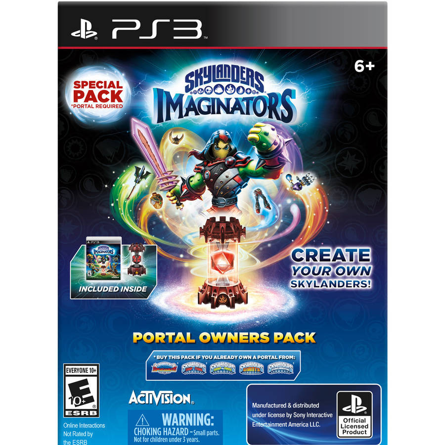Skylanders Playstation 3 Imaginators Portal Owners Pack (Walmart Exclusive), 47875880191