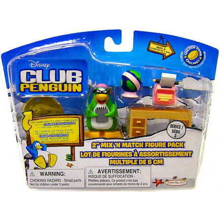 - Club Penguin Mix 'N Match Series 3 Aunt Arctic Mini Figure Set
