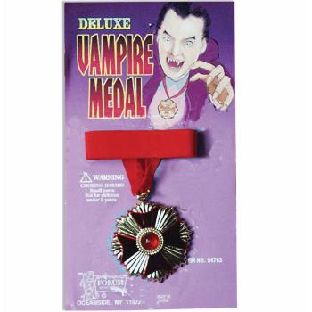 DELUXE VAMPIRE MEDALLION - Halloween Medallion