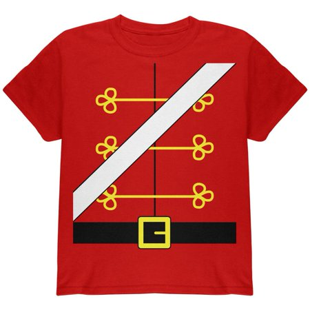 Christmas Toy Soldier Nutcracker Costume Youth T Shirt