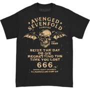 Avenged Sevenfold Men's Seize The Day T-shirt Small Black