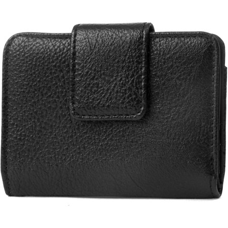 - Women's MicroTwofold Pebble Clutch Wallet