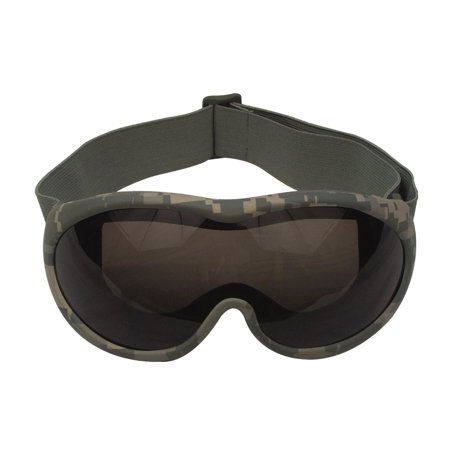 Desert Locust Goggle (UV 400 Shatterproof Anti Scratch Anti Fog Desert Goggles, Smoke Grey)