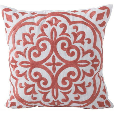 Better Homes & Garden Block Embroidered Medallion Decorative -