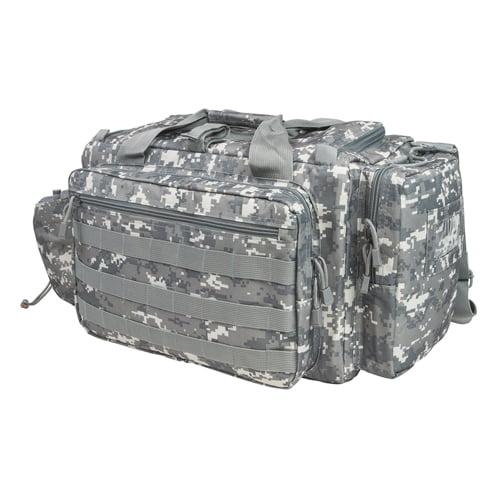 VISM Competition Range Bag w/ Zippered Compartments, Digital Camo
