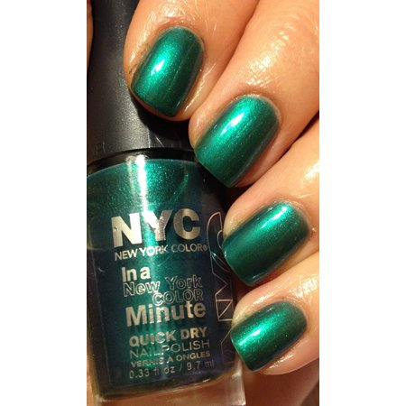 203 Precious Peacock - New York Color In A Minute Quick Dry Nail Polish 9.7mL by N.Y.C., 203 Precious Peacock - New York Color In A Minute Quick Dry Nail Polish.., By (Best Amc In Nyc)
