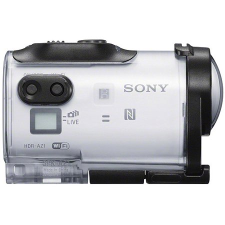 Sony White HDR-AZ1/W POV HD Action Camcorder