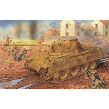 6428 1/35 Panther Ausf.D w/Zimmerit Coating