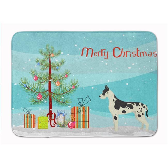 Carolines Treasures Ck3542rug Great Dane Christmas Tree Machine Washable Memory Foam Mat Walmart Canada