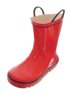 "Shoe Shox Boys' ""High Line"" Rain Boots (Toddler Sizes 5 - 10)"