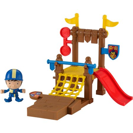 Fisher Price Mike The Knight Training Grounds Play Set