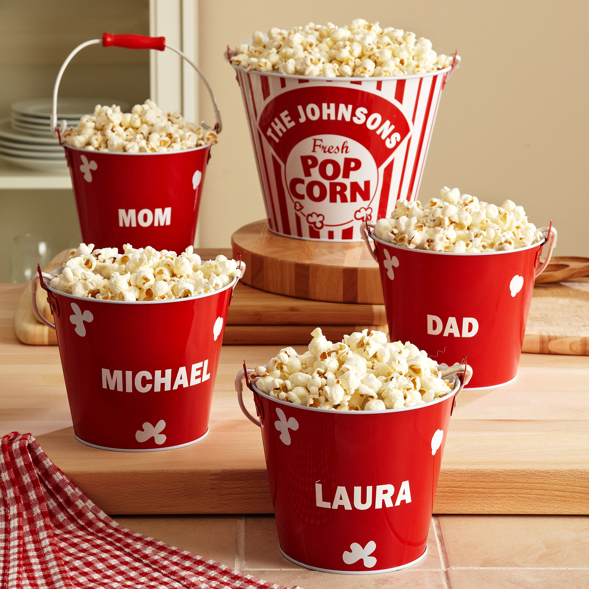 Personalized Popcorn Bucket Set - Walmart.com