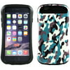 KIKO Wireless Design Candy Shell Hybrid Case Defender Abrasion-Resistant Heavy-Duty Shatterproof Cover Fashion and Funny/Soft Silicone TPU for Apple iPhone 6