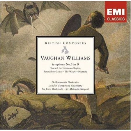 Vaughan Williams Tuba - VAUGHAN WILLIAMS: SYMPHONY NO. 5; TOWARD THE UNKNOWN REGION; SERENADE TO MUSIC; THE WASPS OVERTURE