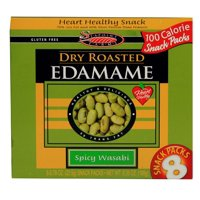 Seapoint Farms Dry Roasted Edamame Spicy Wasabi 8 Packs