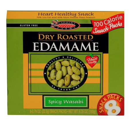 Spicy Trail Mix Recipe (Seapoint Farms Dry Roasted Edamame Spicy Wasabi 8)
