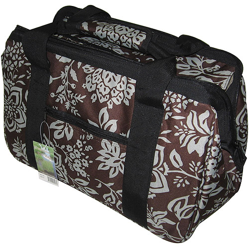 """JanetBasket Blue Floral Eco Bag, 18"""" x 10"""" x 12"""""""