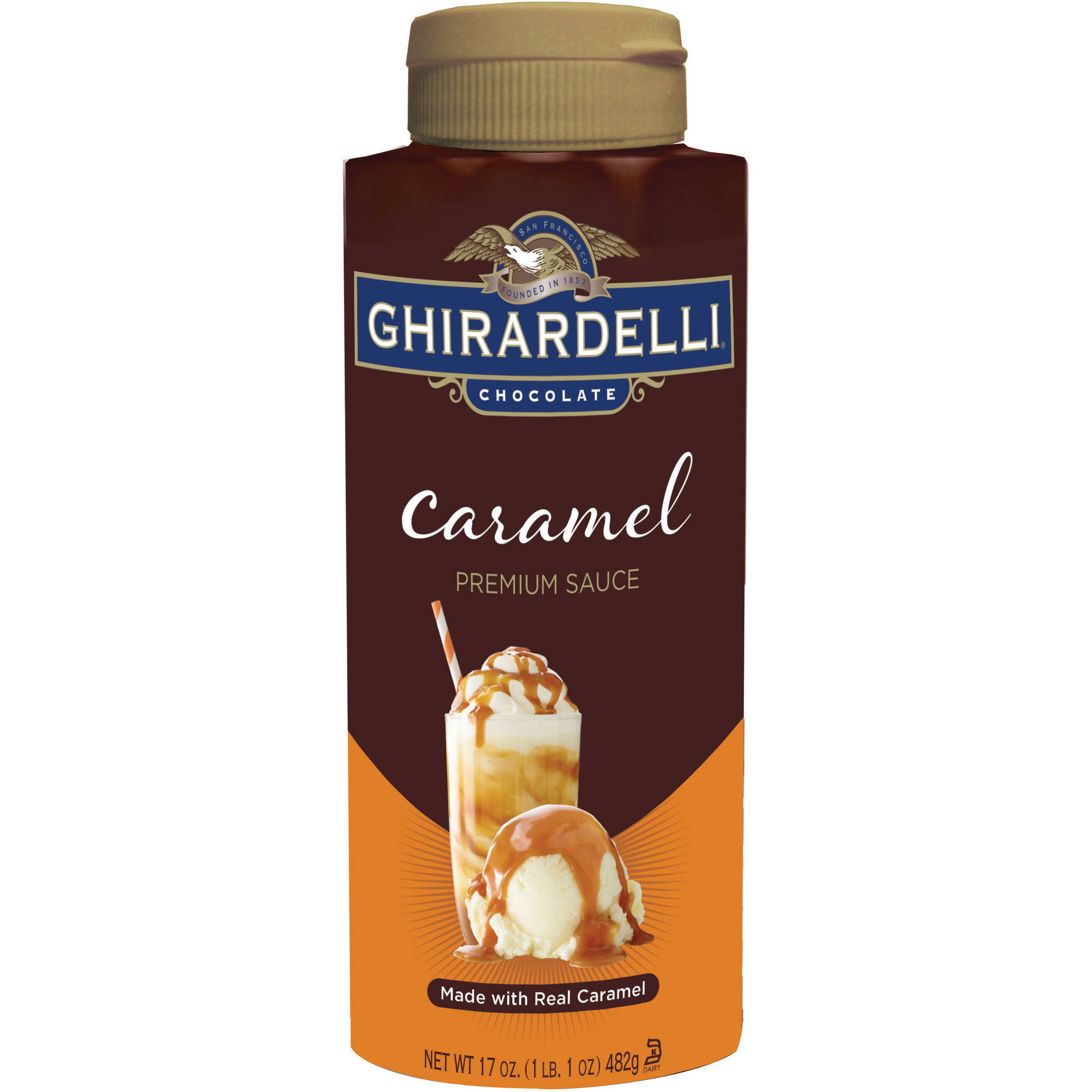Ghirardelli Chocolate Caramel Premium Sauce, 17 oz