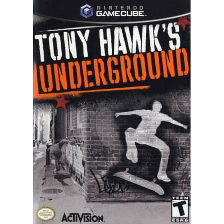 tony hawk's underground - gamecube (Best Japanese Gamecube Games)