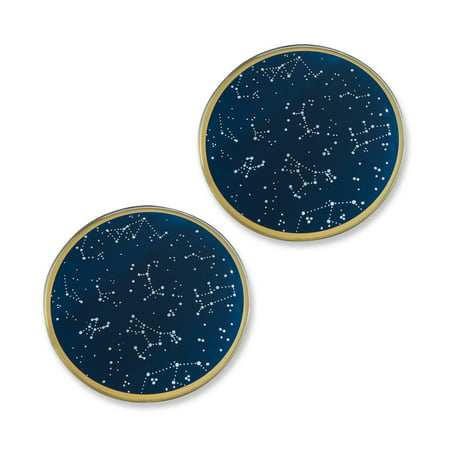 Kate Aspen Under the Stars Glass Coasters - Set of 6 ()