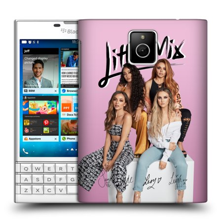 Autographed Collection - OFFICIAL LITTLE MIX AUTOGRAPH COLLECTION HARD BACK CASE FOR BLACKBERRY PHONES