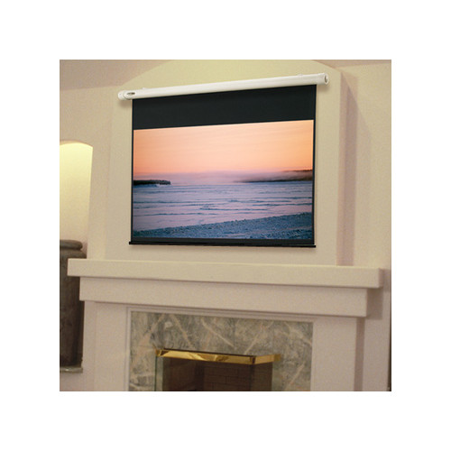 Draper Salara Plug & Play White Electric Projection Screen