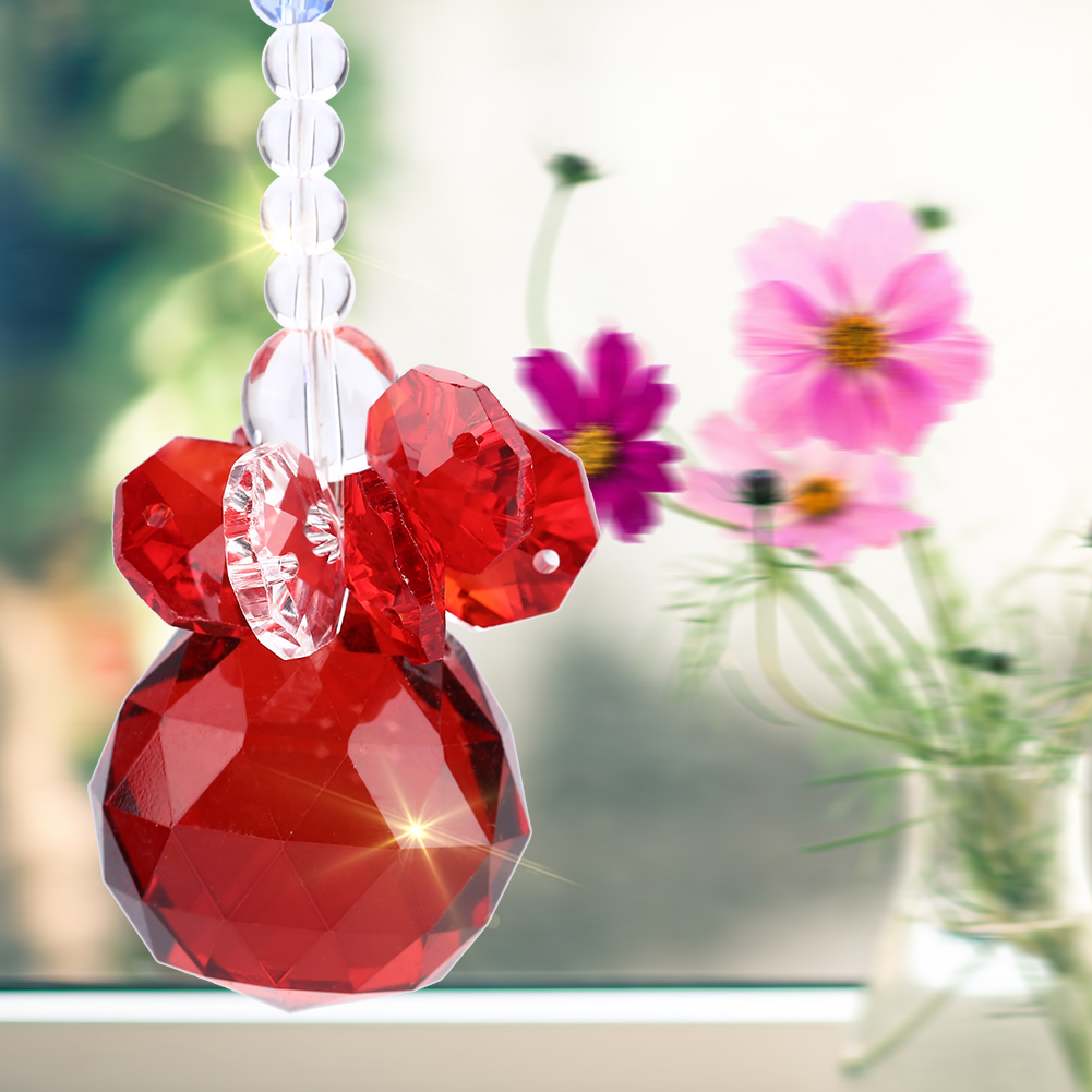 Clear K9 Crystal Suncatcher Hanging Pendant Prisms Pendant Wedding X'mas Ornament   ,Clear K9 Crystal Suncatcher,K9 Crystal Suncatcher for Wedding