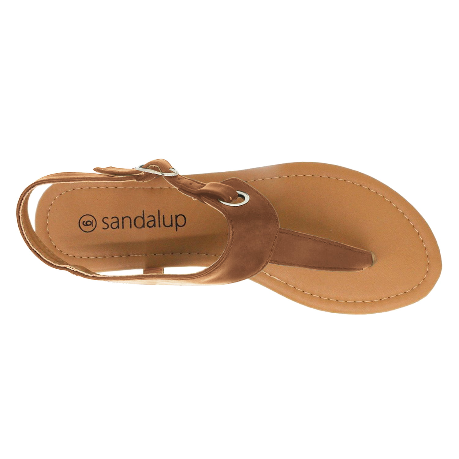 ef80bcfd35fbe Sandalup - Newstar Claire Thong Flat Sandals for Beach