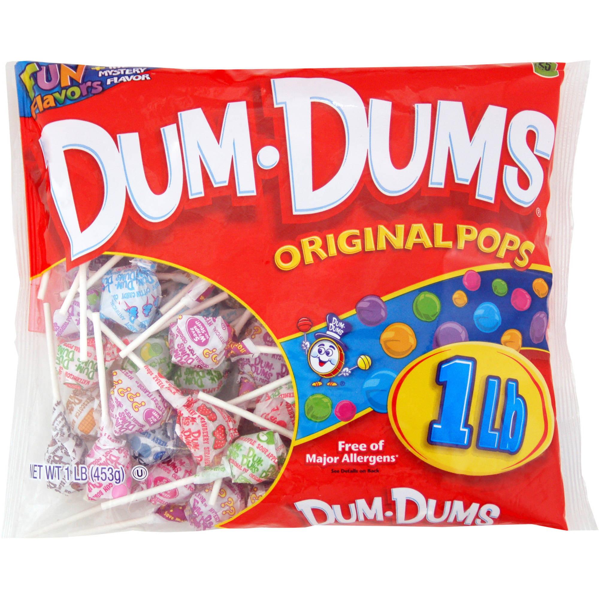 Spangler Candy Co. Dum Dum Pops, 1 Lb Bag