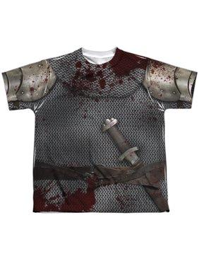 - Battle Damaged Jacket - Youth Short Sleeve Shirt - Medium