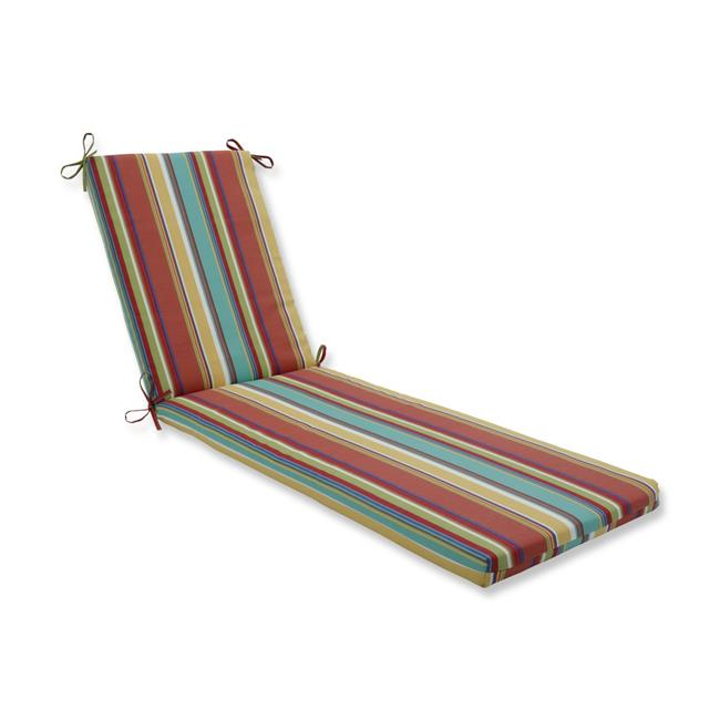 80 x 23 x 3 in. Outdoor & Indoor Westport Spring Chaise Lounge Cushion, Multicolored