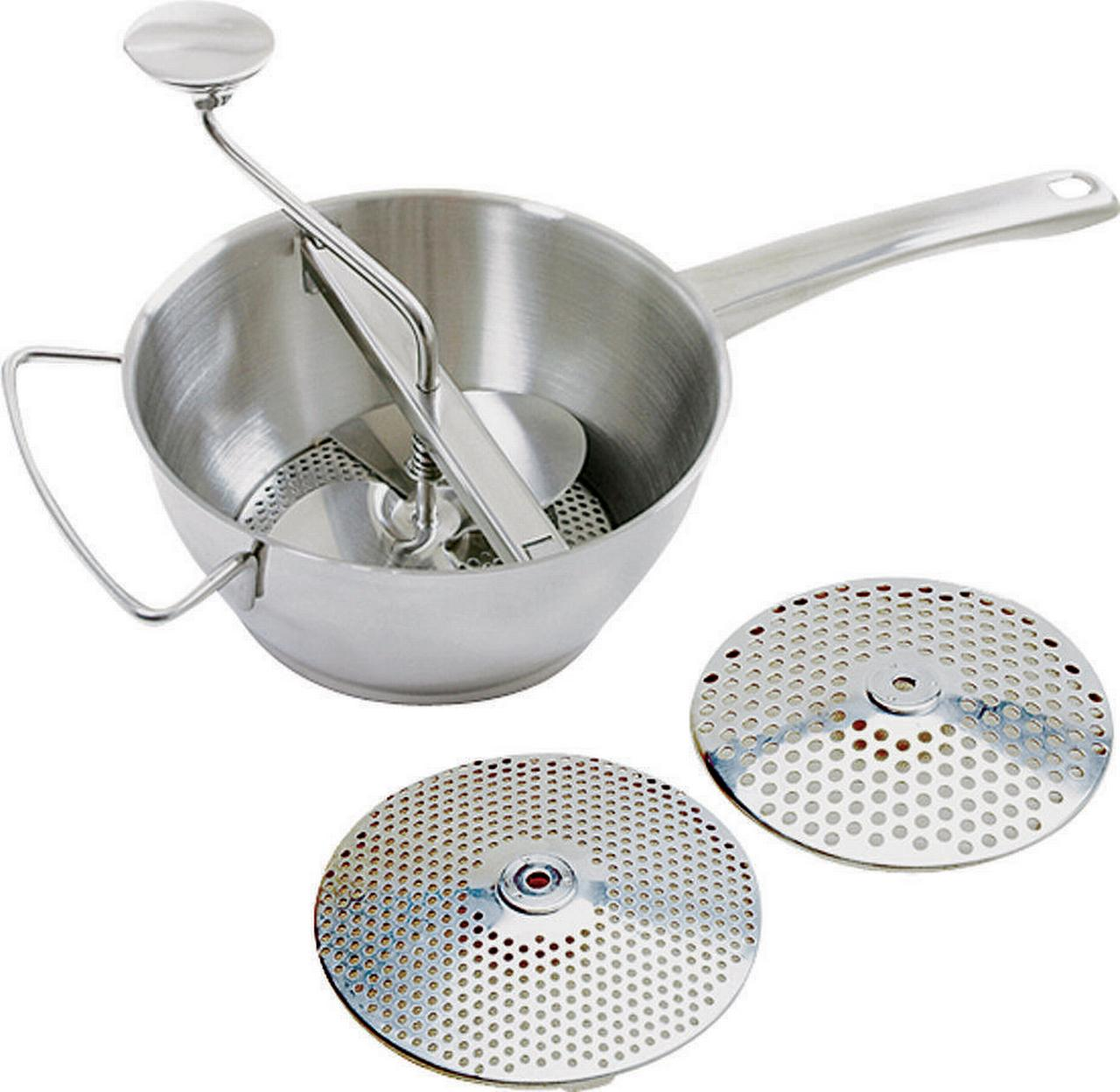 FOOD MILL DELUXE SS 2QT