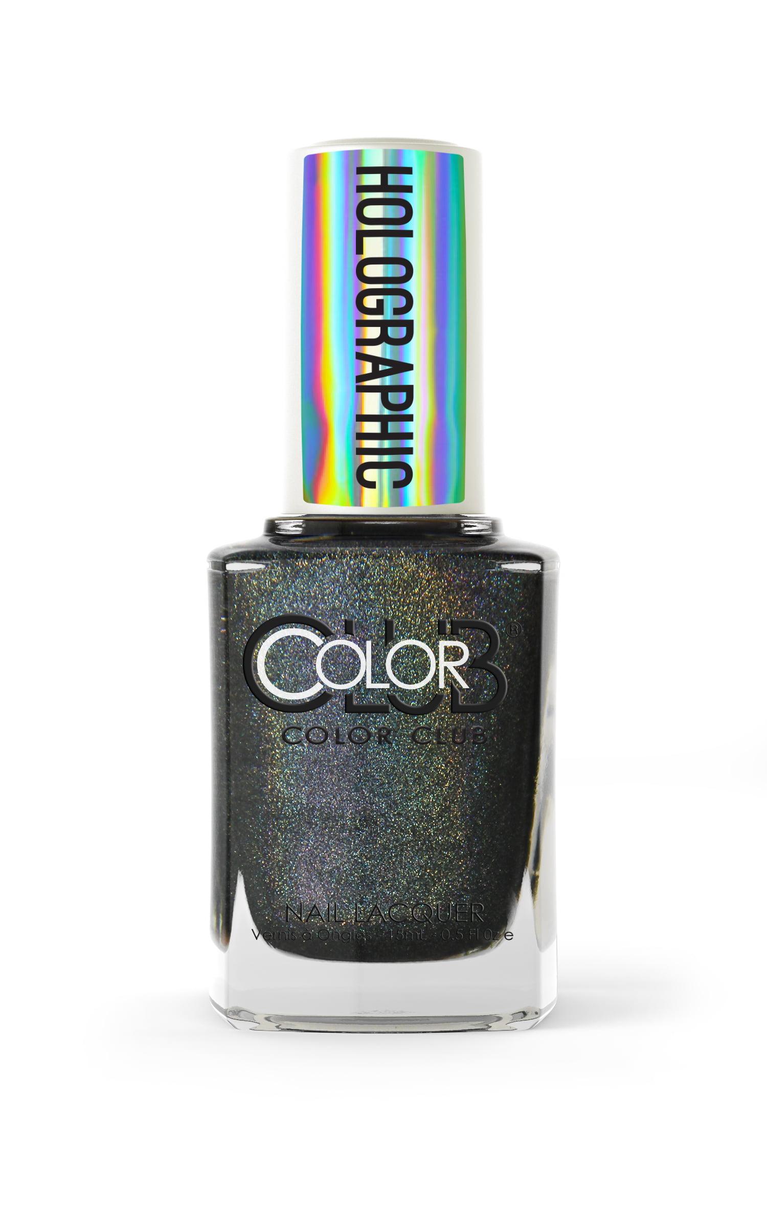 Color Club Holographic Nail Polish, Black Magic - Walmart.com