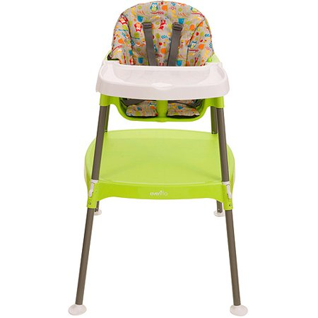 Evenflo Convertible 3 In 1 High Chair Woodlandbud