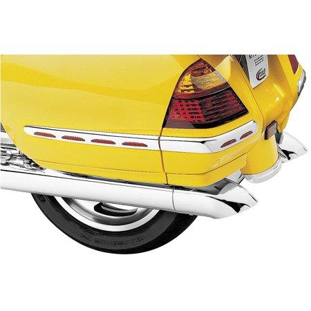 Kuryakyn 7606 Turndown Exhaust Extension (Kuryakyn Triple Straight Exhaust Extensions)