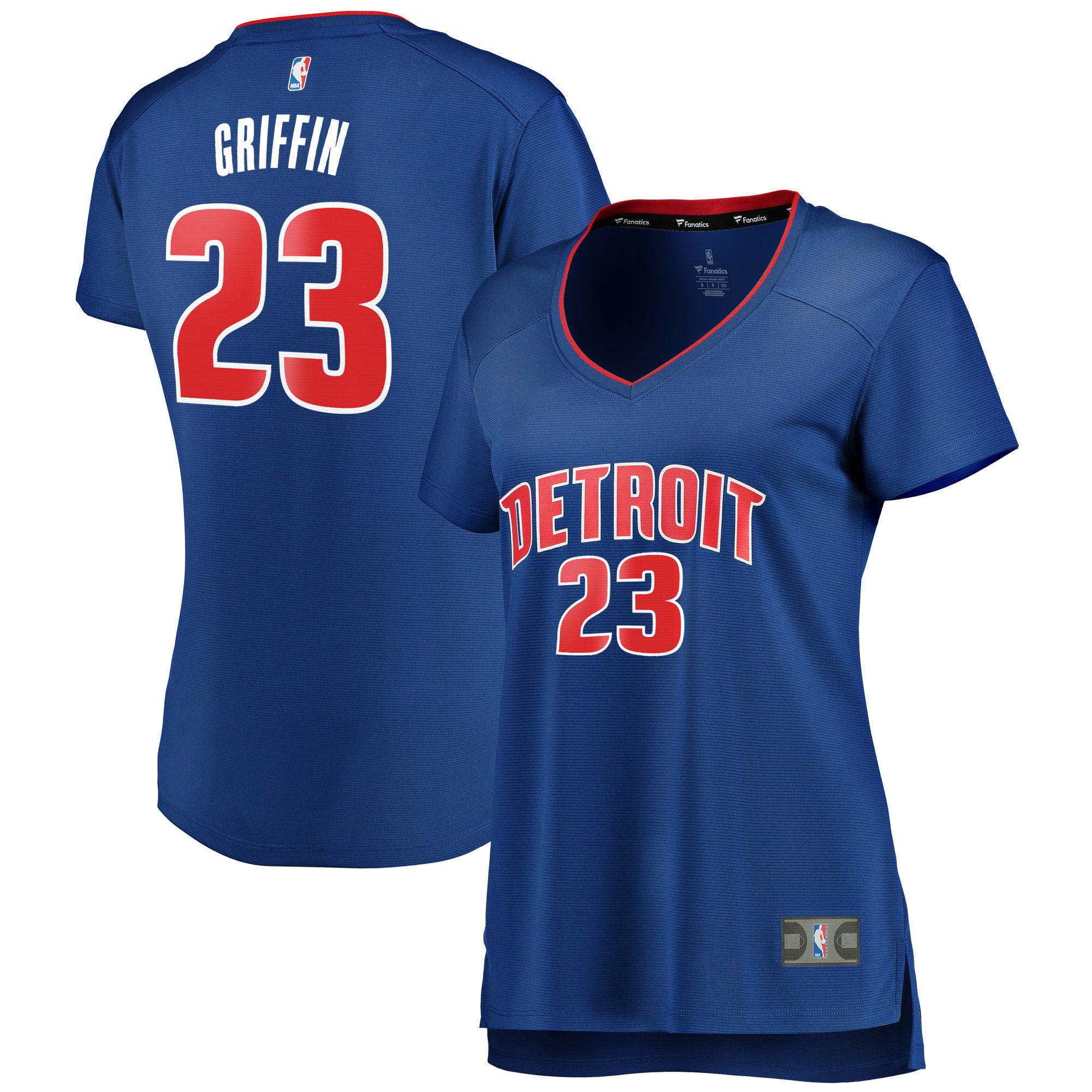 Blake Griffin Detroit Pistons Fanatics Branded Women's Fast Break Replica Jersey Blue - Icon Edition
