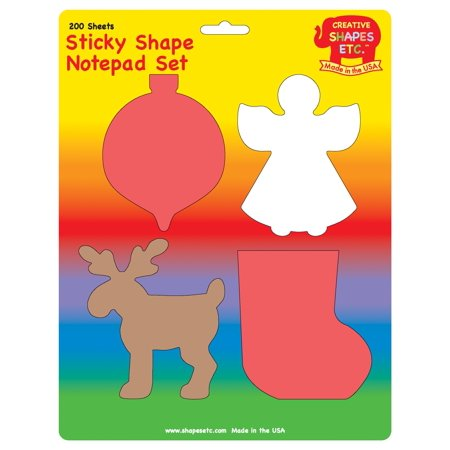 Sticky Notepad Set - Christmas