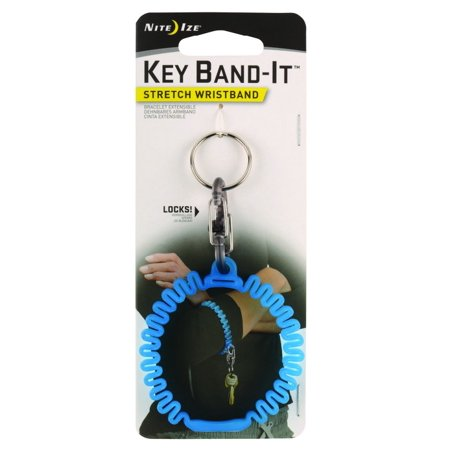- Nite Ize KWB-03-R6 Key Band-It Stretch Wristband, Plastic, Blue
