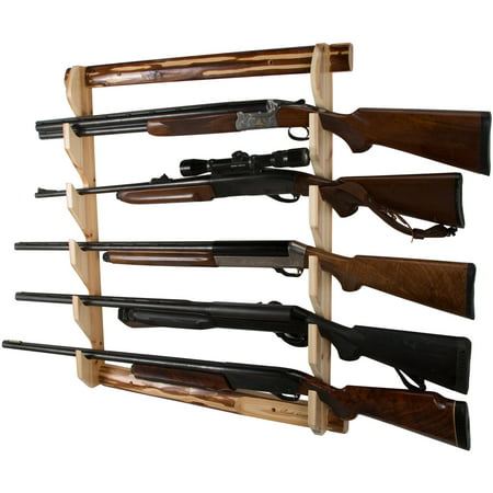 Ride Gun Rack - Rush Creek Creations 5 Gun Wall Storage Rack