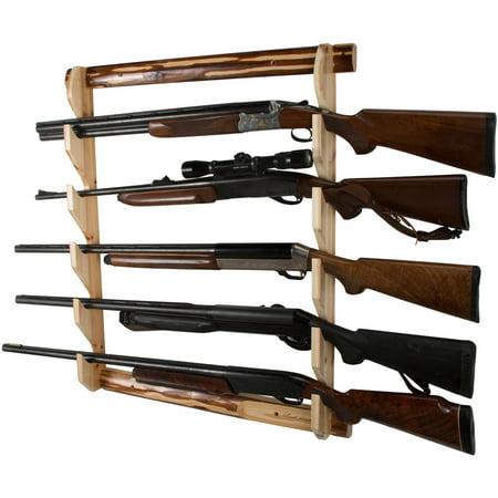 Rush Creek Creations 5 Gun Wall Storage Rack